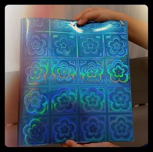 Totally AWESOME 90s flower power binder!!